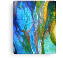 Fragmented paths I Canvas Print