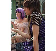 Cafe Girls 7 Photographic Print