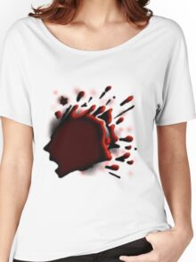 Screaming Bloodsplat Women's Relaxed Fit T-Shirt