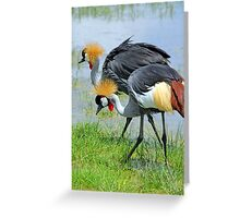 Crowning Glory Greeting Card