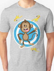 Monkey Going Bananas! Unisex T-Shirt