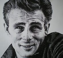 James Dean by Michael Palmer