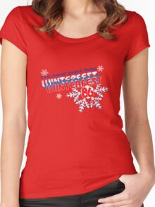 Winterfest 86 Women's Fitted Scoop T-Shirt