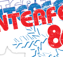 Winterfest 86 Sticker
