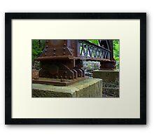 trussed trestle Framed Print