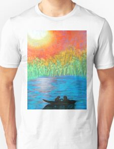 Lovers on the Lake T-Shirt