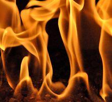 Dancing Flames II by Valerie Rosen
