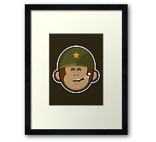 Monkey Forces Framed Print