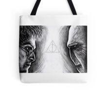 Harry vs Voldemort Tote Bag