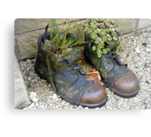 Fill yer Boots Canvas Print