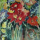 Floral  by Marilia Martin