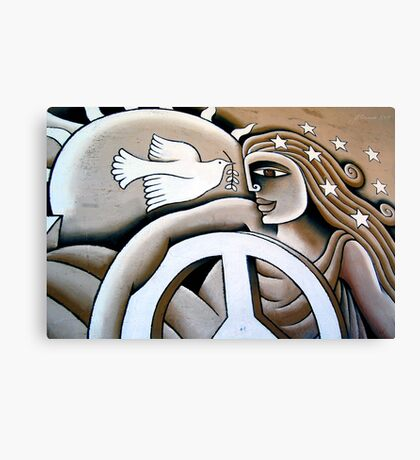 Peace Offering Canvas Print