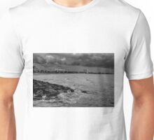 0566 Storm over St Kilda Beach  Unisex T-Shirt