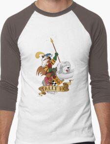 Tally Ho! Men's Baseball ¾ T-Shirt