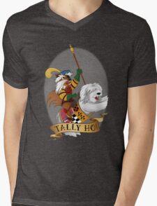 Tally Ho! Mens V-Neck T-Shirt