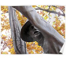 Forward!  11th Mississipi Monument at Gettysburg Poster