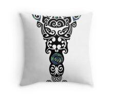 Toi Whakairo Throw Pillow