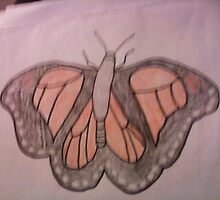 Monarch Butterfly by Regina  Null