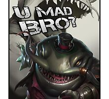 Tahm Kench - League of Legends (U MAD BRO?) by SirAngio10