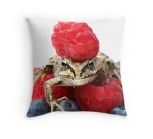 Berry Beret Throw Pillow