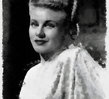 Ginger Rogers by John Springfield by esotericaart