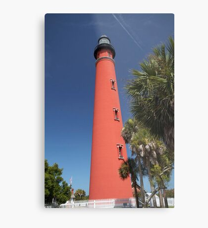 Ponce De Leon lighthouse, Florida Metal Print