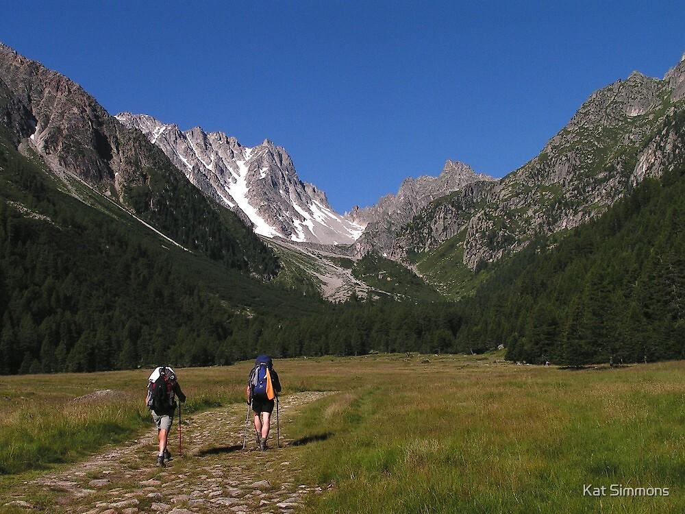 Tour du Mont Blanc - Val d'Arpette by Kat Simmons