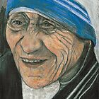 Mother Theresa  by keepsakeart