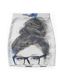 riddle Mini Skirt