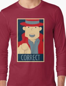 Correct, The Pointing Finger Long Sleeve T-Shirt