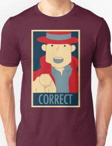 Correct, The Pointing Finger Unisex T-Shirt