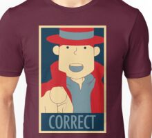 Correct, The Pointing Finger Unisex T-Shirt