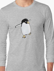 Penguin Learning to Fly Long Sleeve T-Shirt