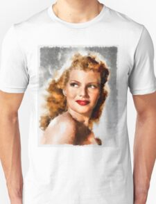 Rita Hayworth by John Springfield Unisex T-Shirt