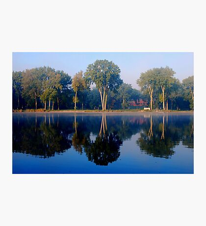 Reflections in the Fox River Photographic Print