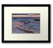 August Glow Framed Print