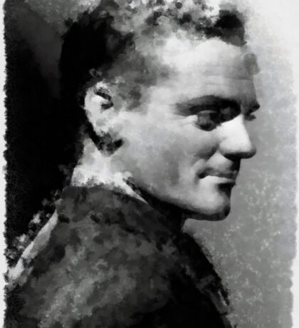 James Cagney by John Springfield Sticker