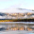 Hawkebury River NSW Australia by Bev Woodman