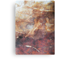 eden - fresco on the natural surface - natural world Canvas Print