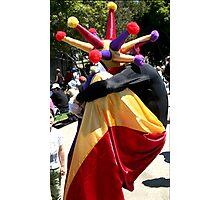 Man on Stilts Photographic Print