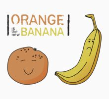 Orange is the new Banana Kids Tee