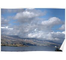 New Columbia Gorge view Poster