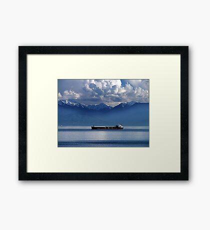 Evening Passage Framed Print