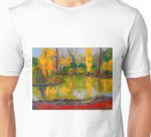 The colours of autumn, Malmsbury VIC Australia Unisex T-Shirt