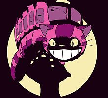 Cheshire no totoro - original by ArryDesign