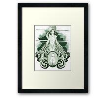 Nunc Minerva postea palas (1.0) Framed Print