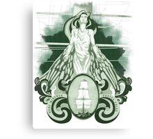 Nunc Minerva postea palas (1.0) Canvas Print