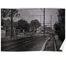 Station Lines Poster