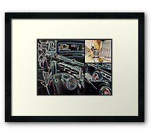 """Pierce Collage #2"" Framed Print"