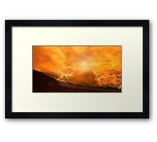 Sunset On Haleakala Framed Print
